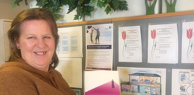 Uudenmaan Parkinson -yhdistyksen Kaarina Malm